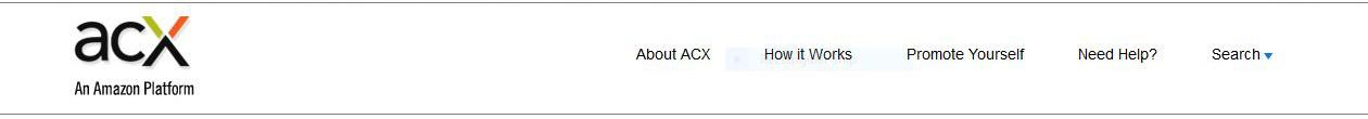 ACX audible platform banner